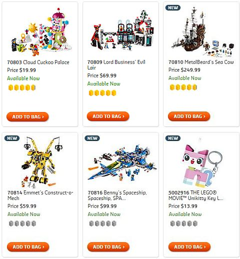 Shop The LEGO Movie Sets with Unikitty