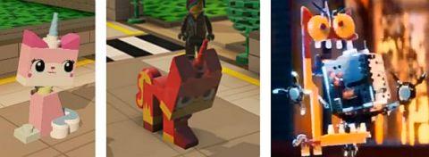 The LEGO Movie Unikitty Poses