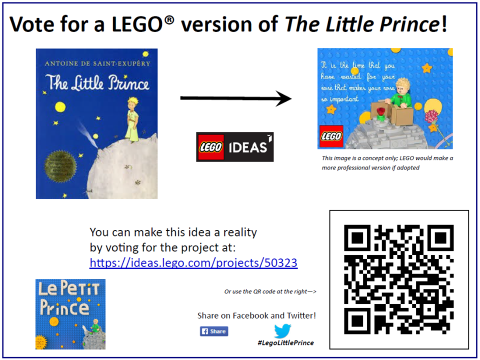 Vote for LEGO The Little Prince