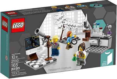 #21110 LEGO Research Institute Female Set Review