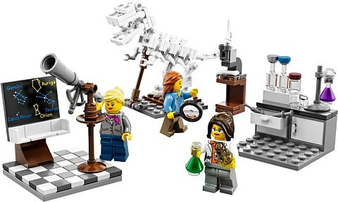 #21110 LEGO Research Institute Review
