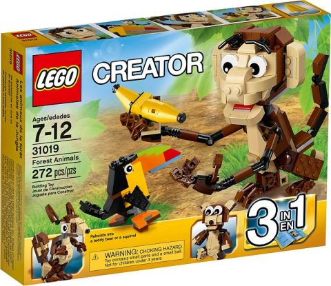 #31019 LEGO Creator Forest Animals Review