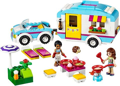 #41034 LEGO Friends Caravan