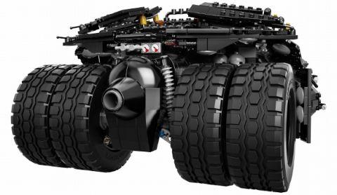 #76023 LEGO Batman Tubmler Back View