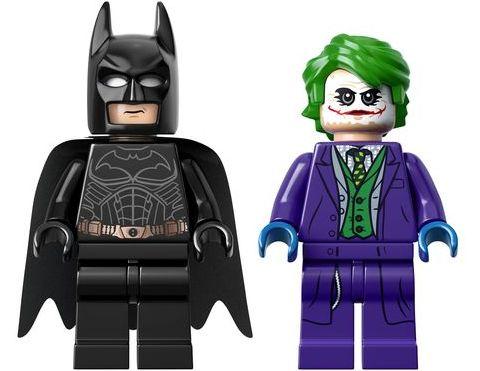 #76023 LEGO Batman Tumbler Minifigures