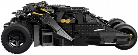 #76023 LEGO Batman Tumbler Side Details