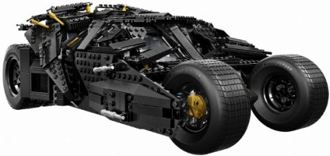 #76023 LEGO Batman Tumbler Side View