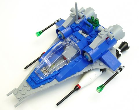 LEGO Classic Spaceship by Peter Morris