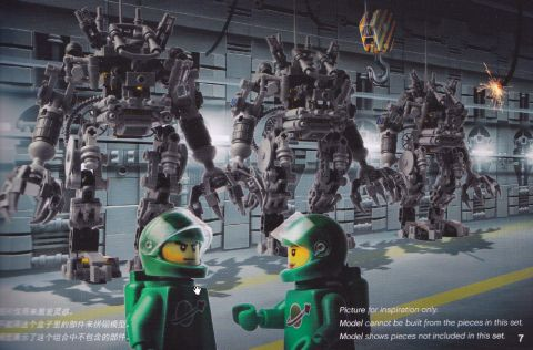 LEGO Exo Suit Booklet
