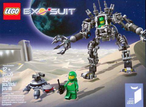 LEGO Exo Suit Box Details