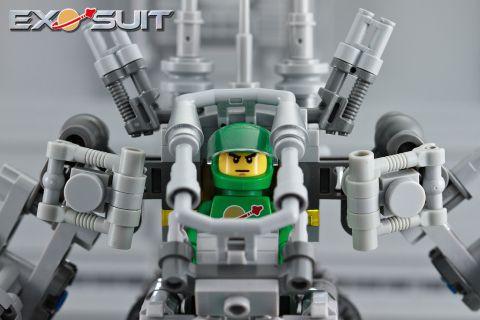 LEGO Exo Suit Cockpit