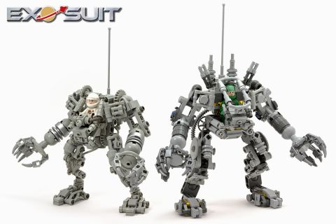 LEGO Exo Suit Comparison 2