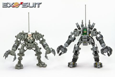LEGO Exo Suit Comparison