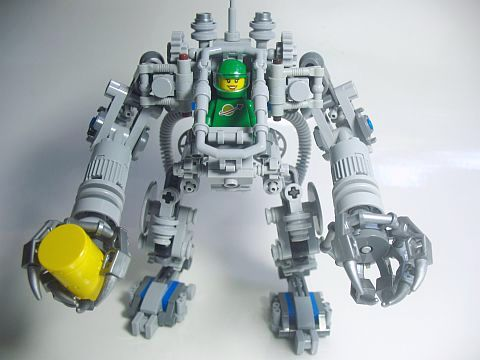 LEGO Exo Suit Modification 2