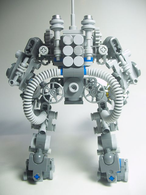 LEGO Exo Suit Modification Back