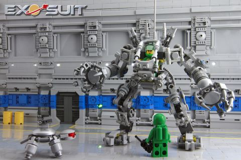 LEGO Exo Suit Review