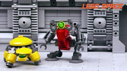 LEGO Exo Suit Robots