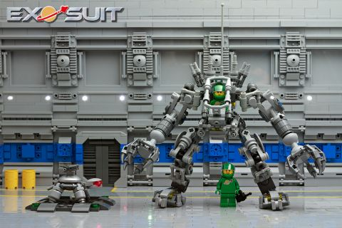 LEGO Exo Suit Set with Background