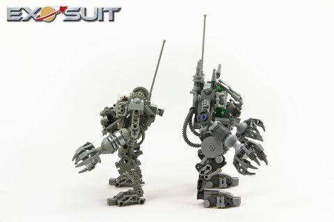 LEGO Exo Suit Side View