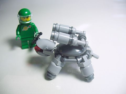 LEGO Exo Suit Turtle Modification