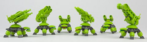 LEGO Exo Suit Turtle Variations