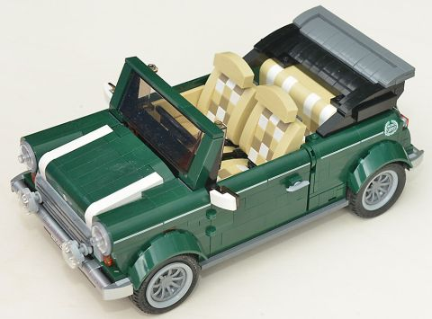LEGO Mini Cooper Conversion by Dirk1313