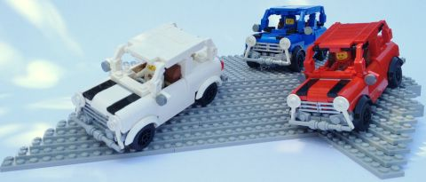 LEGO Mini Cooper by Miro