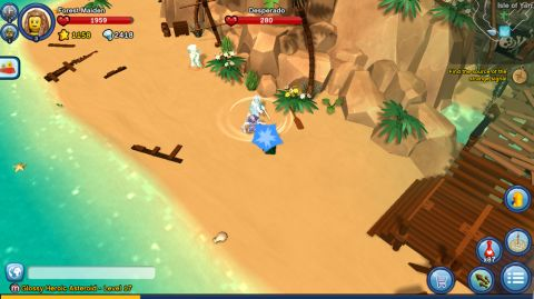 LEGO Minifigures Online Game Pirate World