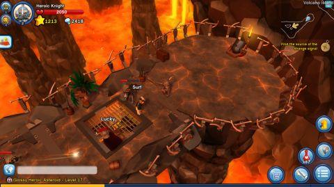 LEGO Minifigures Online Game Volcano Island