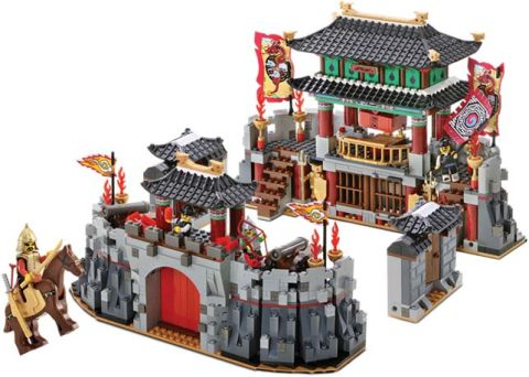 LEGO Oxford Korean Large Castle Details