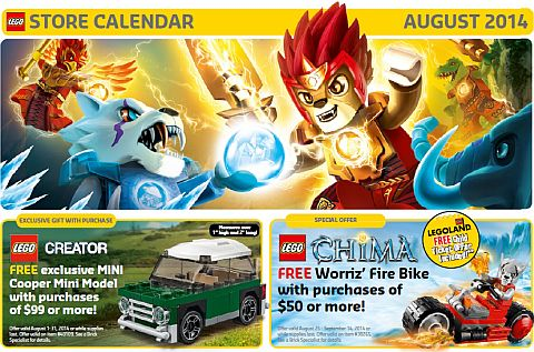 LEGO Sales and Deals in August
