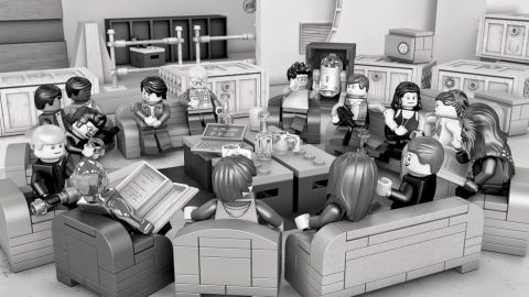 LEGO Star Wars Episode VII Cast