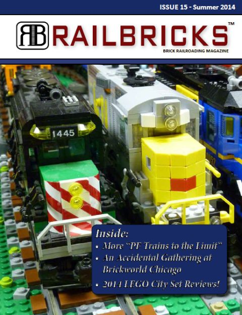 LEGO Train Magazine Railbricks Issue