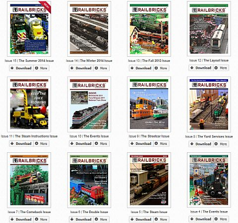 LEGO Train Magazine Railbricks