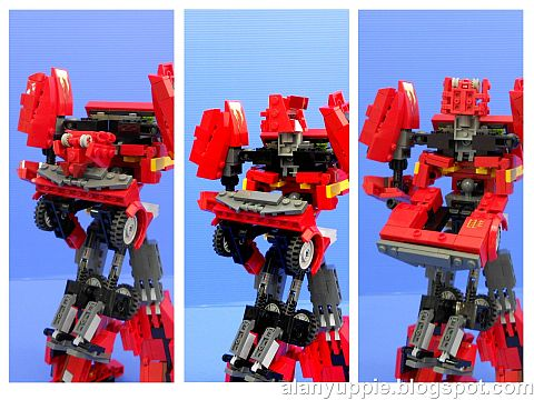 LEGO Transformers Ironhide Bot Details