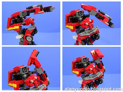 LEGO Transformers Ironhide Details
