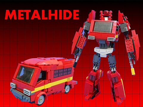 LEGO Transformers Ironhide Metalhide