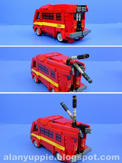 LEGO Transformers Ironhide Van-Mode