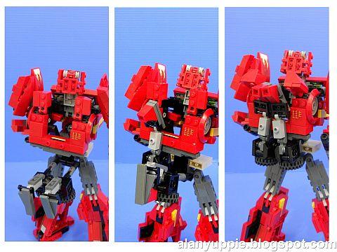 LEGO Transformers Metalhide Bot Details