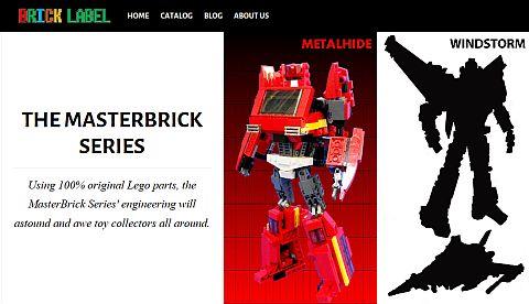 LEGO Transformers by BrickLabel