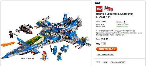 Shop Benny's Spaceship