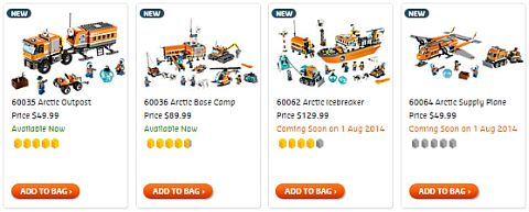 Shop LEGO City Arctic
