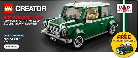 Shop LEGO Mini Cooper Special