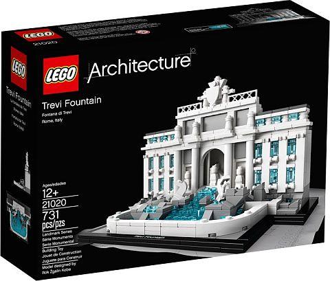#21020 LEGO Architecture Trevi Fountain Box
