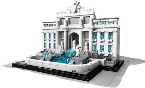 #21020 LEGO Architecture Trevi Fountain Details