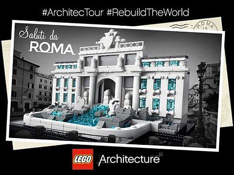#21020 LEGO Architecture Trevi Fountain Review