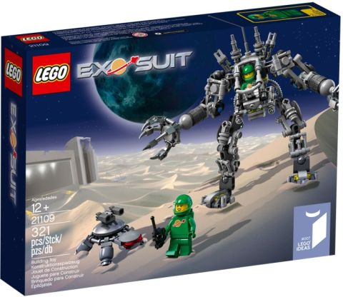 #21109 LEGO Exo Suit Review