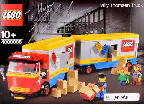 #4000008 LEGO Inside Tour Truck