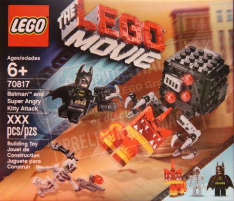 #70817 The LEGO Movie Batman and Super Angry Kitty Attack