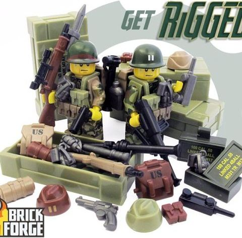 Custom LEGO Military Accessories by BrickForge 1